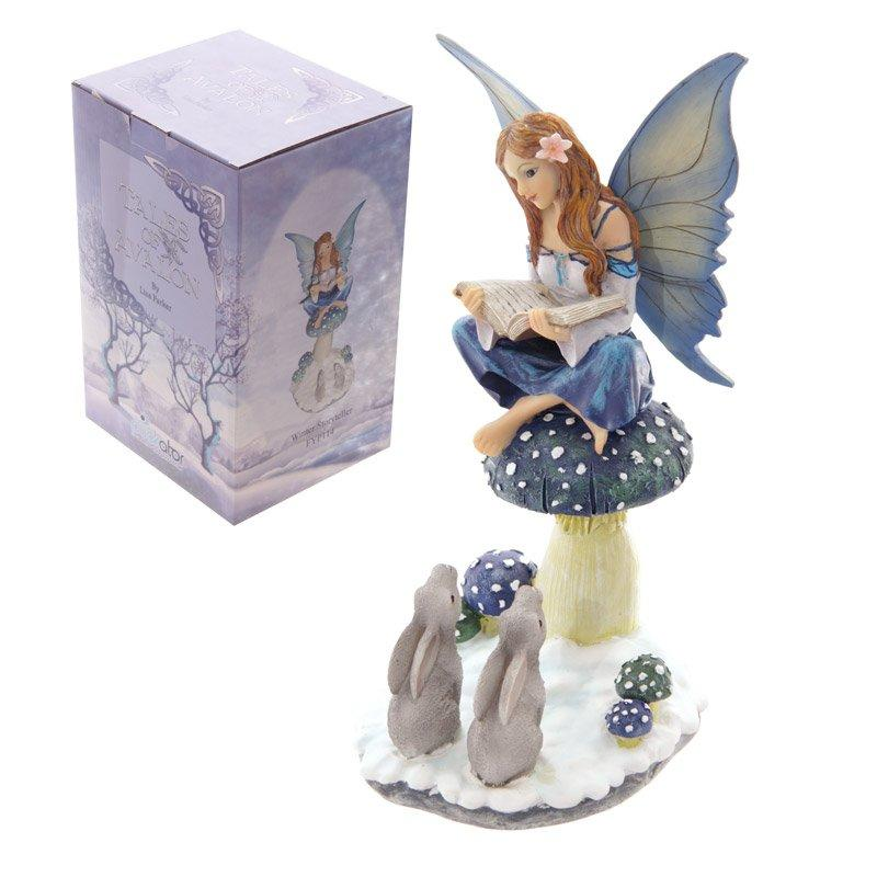 Tales of Avalon Snow Fairy Winter Storyteller by Lisa Parker