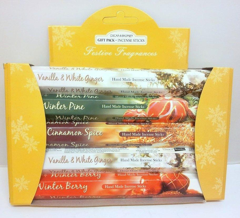 Incense Sticks Festive Fragrances Gift Pack