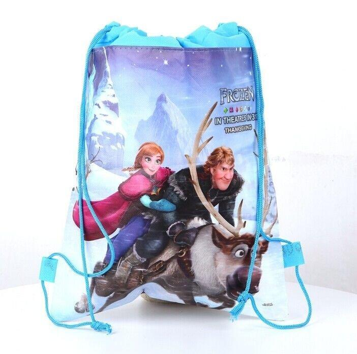 Disney Princess Frozen Swimming Bag Light Blue