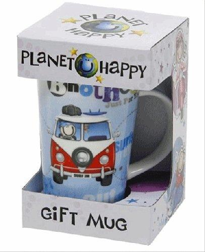 Planet Happy Brother Latte Mug
