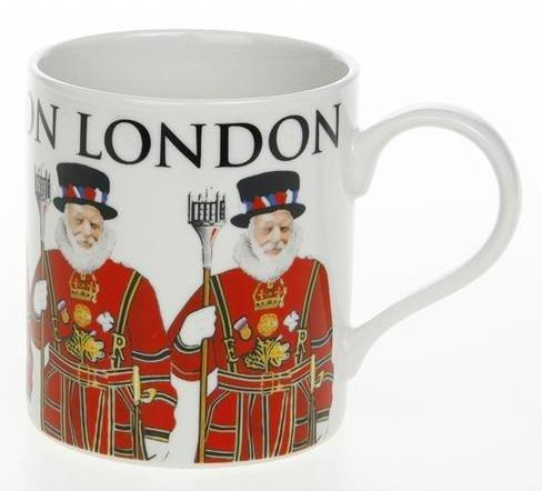 Big Letter London Beefeater Fine China Mug