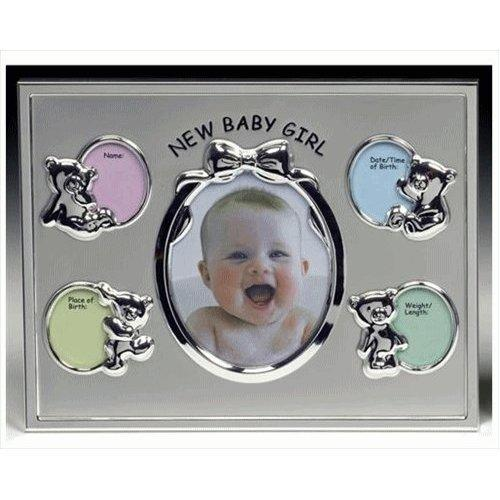 New Baby Girl Record Photo Frame