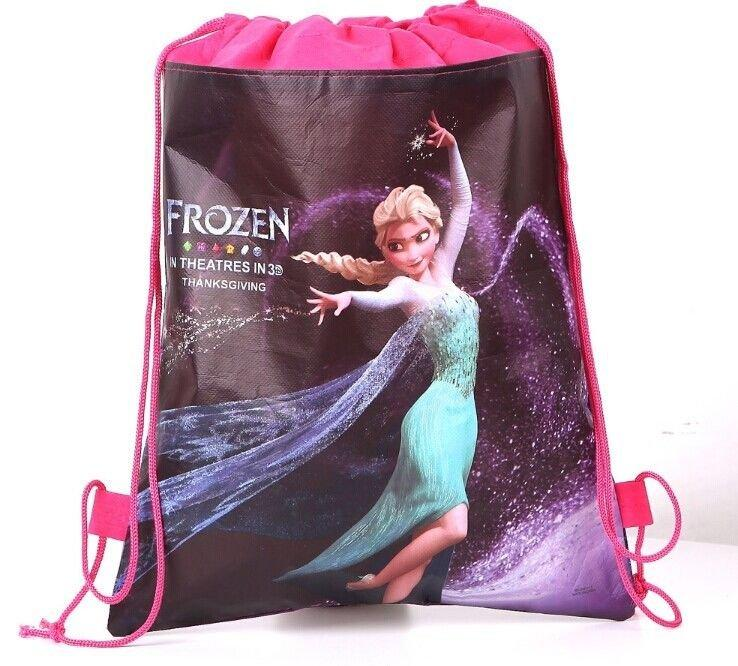 Disney Princess Frozen Theme Swimming Bag Pink