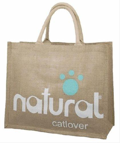 Hessian Shopping Bags Natural Cat Lover