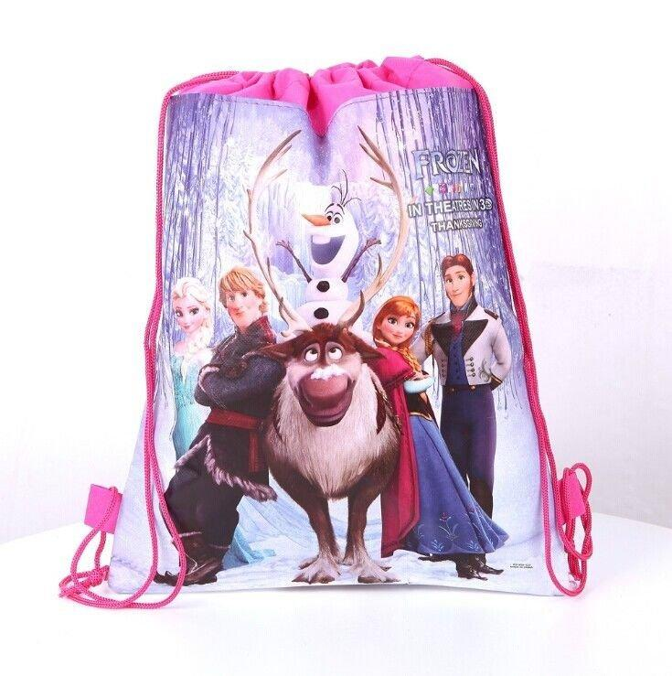 Disney Princess Frozen Swimming Bag Light Pink