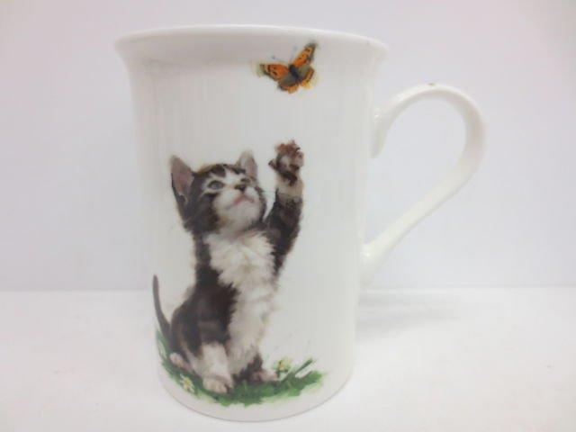 Playful Cats Tea and Coffee Cups