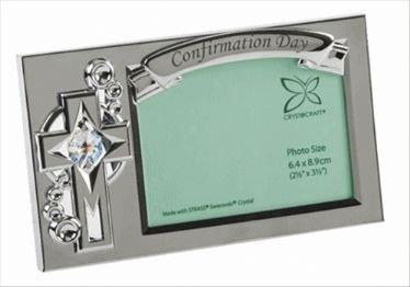 Confirmation Day Crystocraft Photo Frame