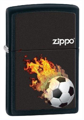 Zippo Lighter Football Red Hot Design