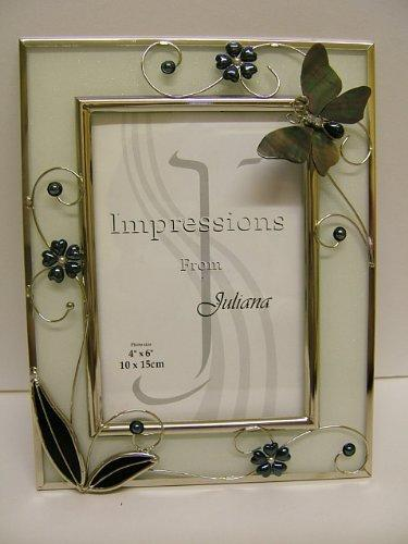 Butterfly and Floral Stylish Photo Frame