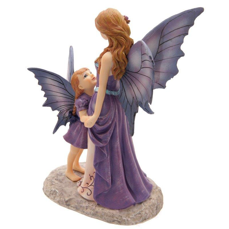 Tales of Avalon Amethyst Guardian Fairy by Lisa Parker