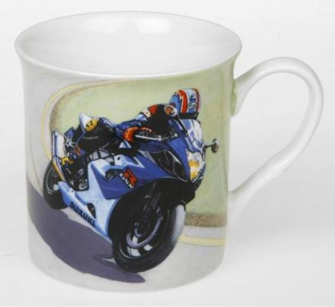 Suzuki GSX R1000 Design Fine China Mug