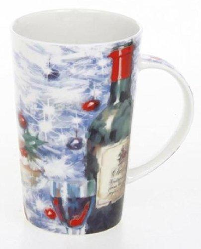 Christmas Wine and Baubles Simply Scrumptious Latte Mug