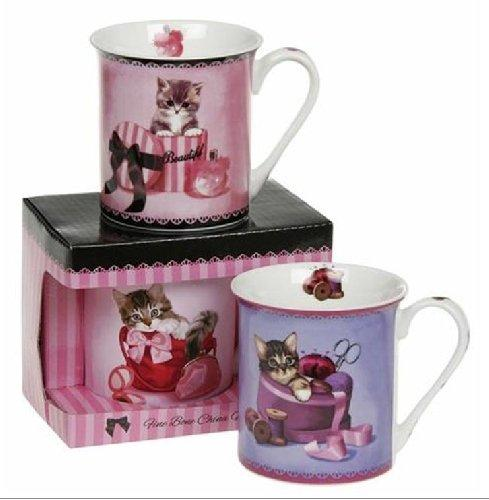 Cute Kittens Fine Bone China Mug