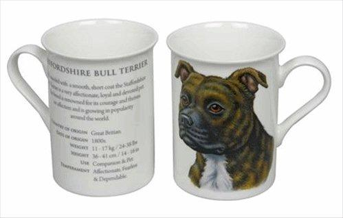 Best of Breed Staffordshire Brown Bull Terrier Mug
