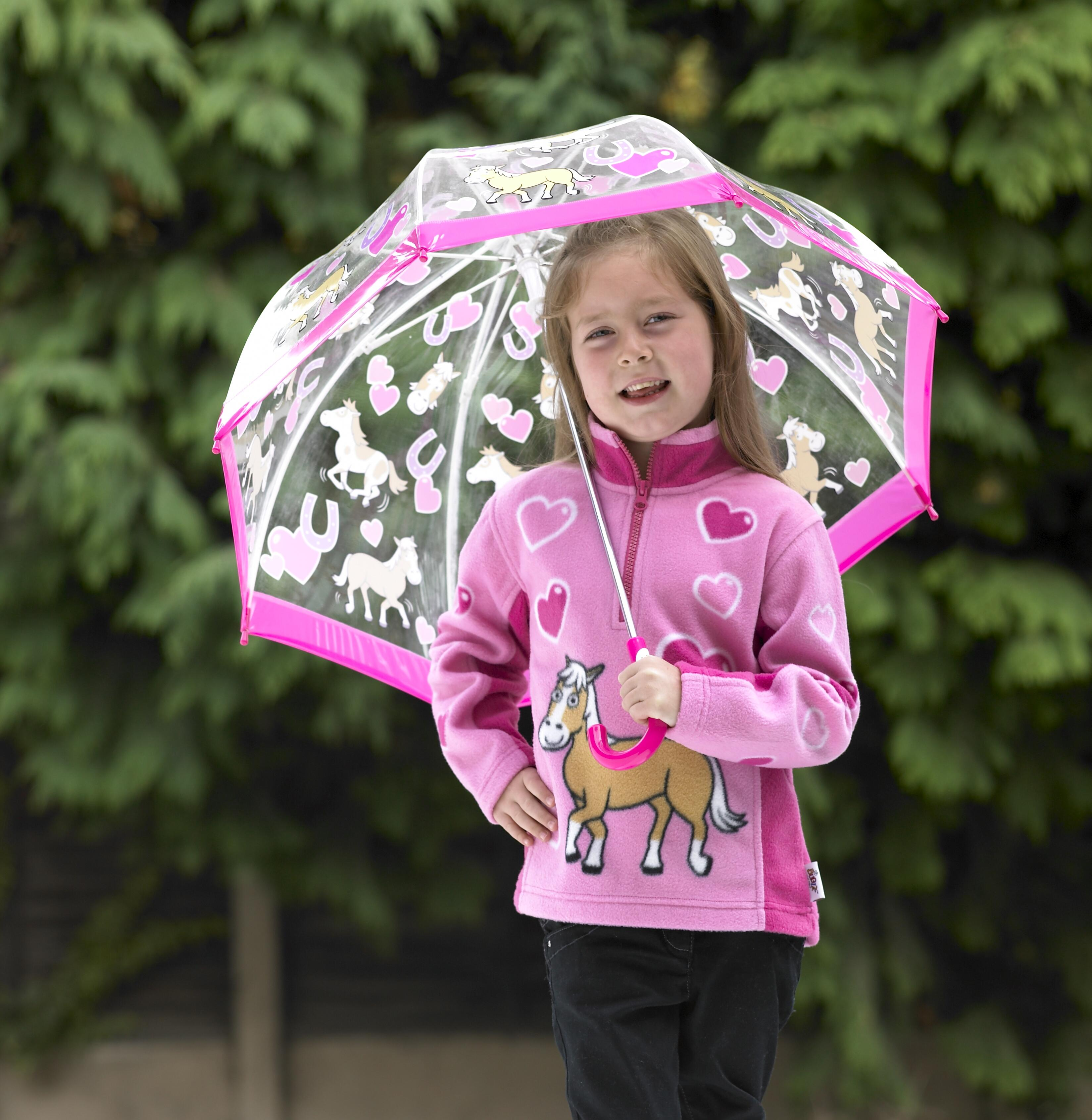 Children's Umbrellas Bugzz Kids Stuff Pony Design Child's Umbrel