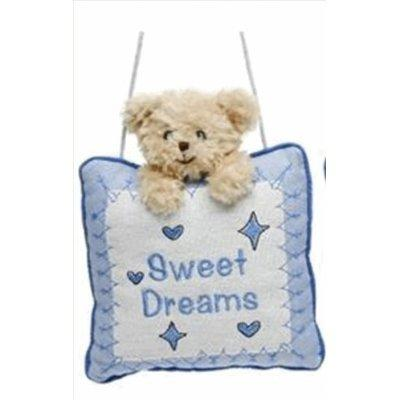 Baby Boy Sweet Dreams Nursery Cushion Hanger