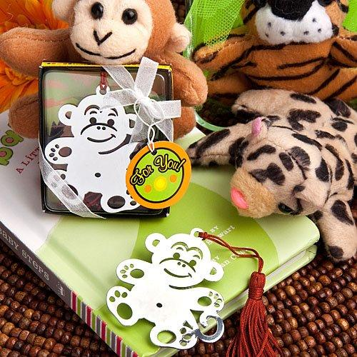Baby Favour Bookmark Jungle Critters Monkey Collection