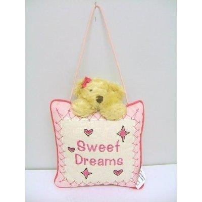 Baby Girl Sweet Dreams Nursery Cushion Hanger