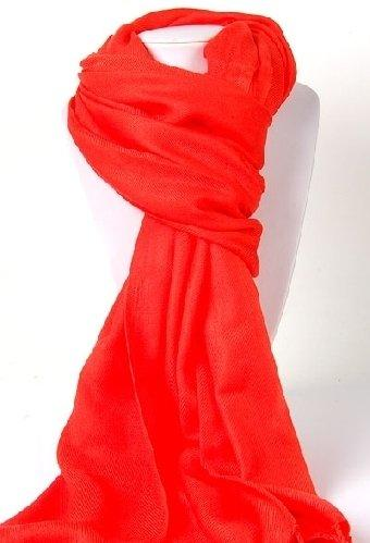 Pashmina Shawl in Burnt Orange