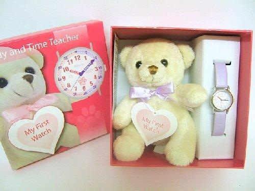 Teddy and Time Teacher Childs Watch
