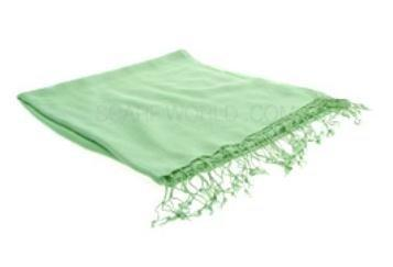 Pashmina Shawl in Soft Green