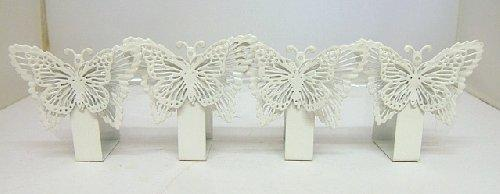 Butterfly Napkin Holders in White