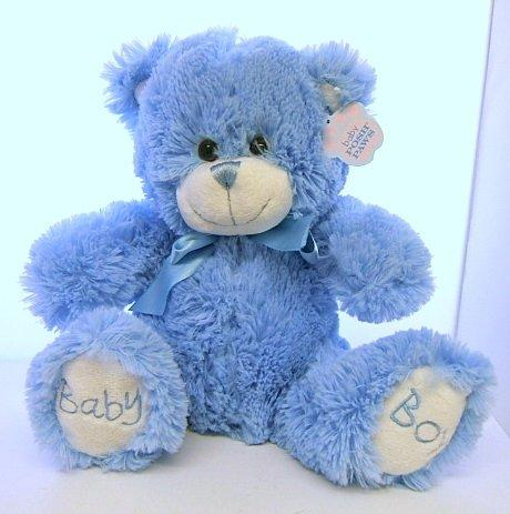 Baby Paws Teddy Bear 21cm Blue