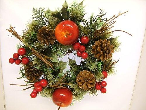 Christmas Wreath Table Decoration Apple and Berries