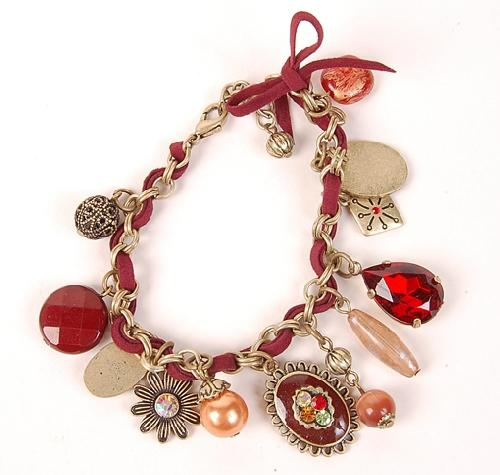 Antique Style Red Fashion Bracelet