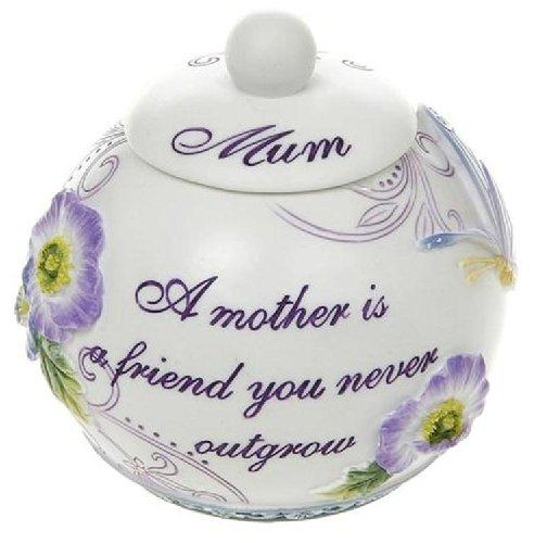 Tealight Candle Holder Pretty Pansy Mum Design