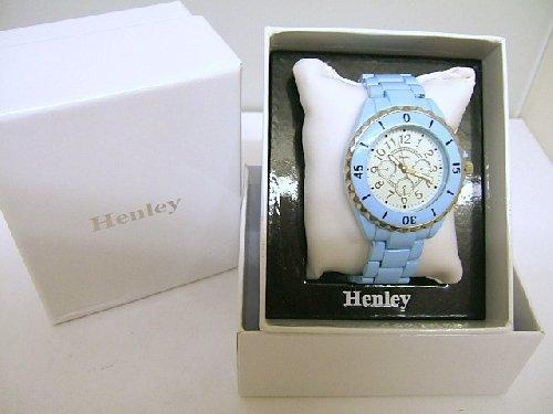 Ladies Henley Blue Glamour Fashion Watch