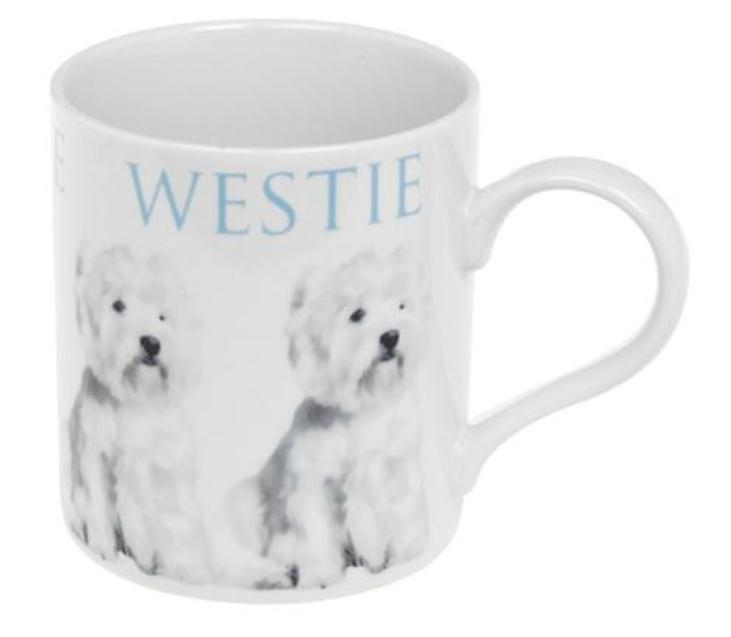 Big Letter Dog Mug West Highland Terrier (Westie)
