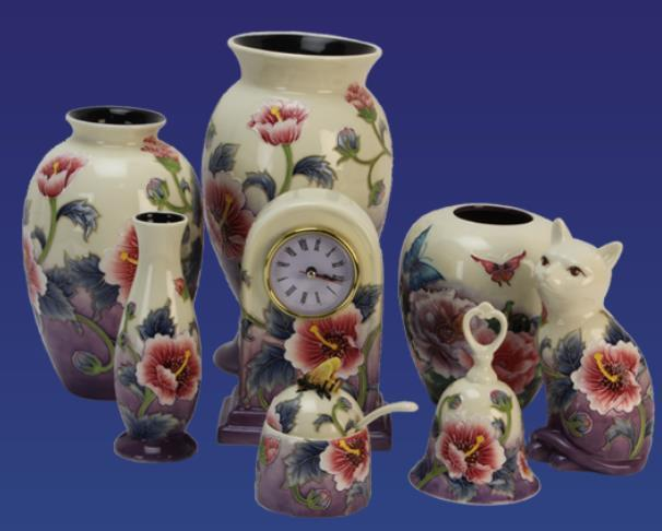 Old Tupton Ware Hibiscus