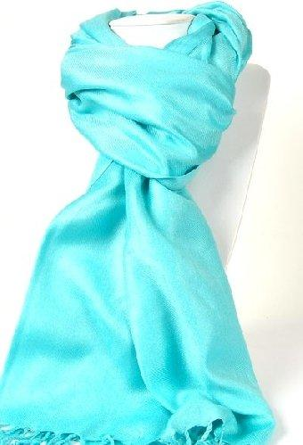 Pashmina Shawl in Spearmint Gum