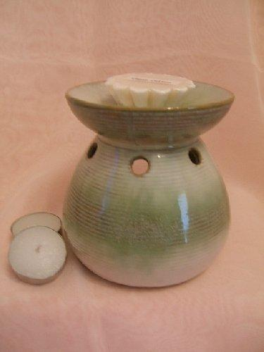 Oil Burner Moroccan Style Green