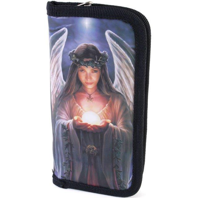 Purse Yule Angel Design by Anne Stokes