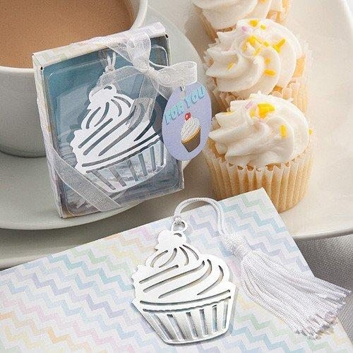 Baby Favour Bookmark Cupcake Design