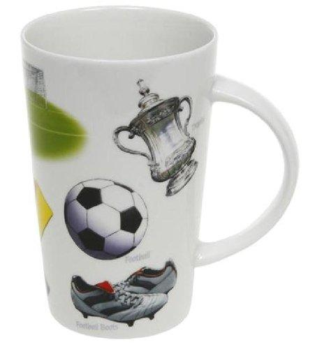 Latte Football Theme Mug