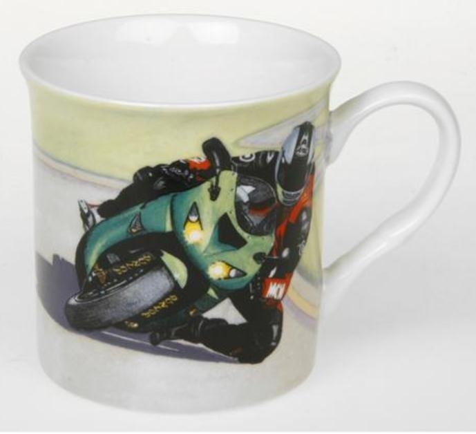 Kawasaki Ninja Design Fine China Motor Bike Mug