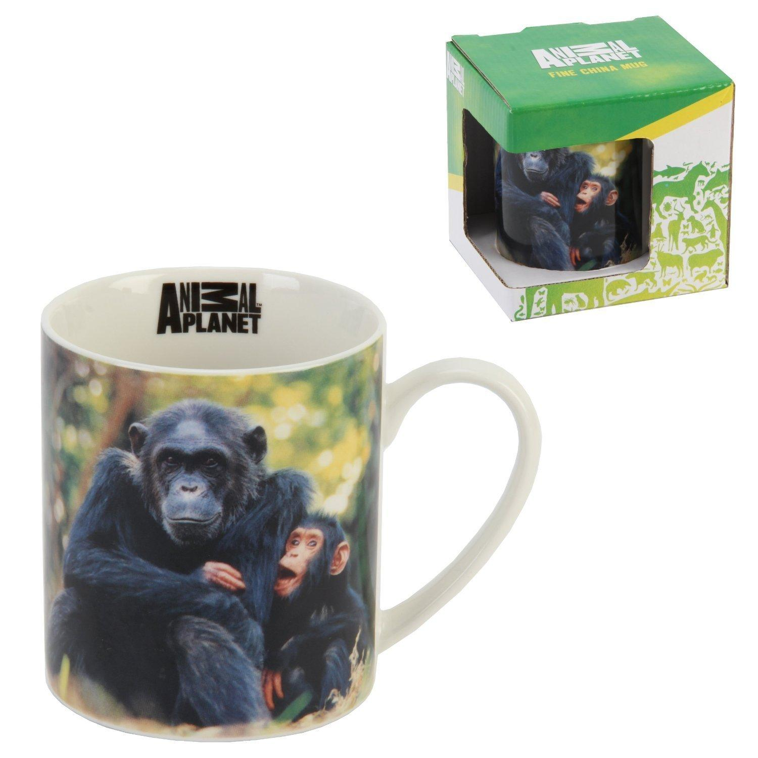 Animal Planet Chimpanzee Fine China Mug