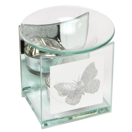 Oil Burner Glittering Butterfly