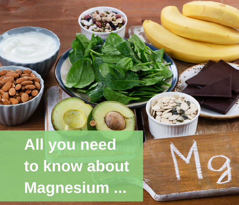 All you need to know about Magnesium...