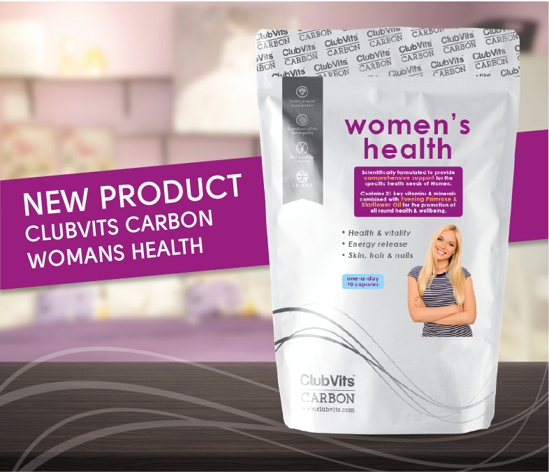 NEW PRODUCT! Club Vits Carbon - Women's Health