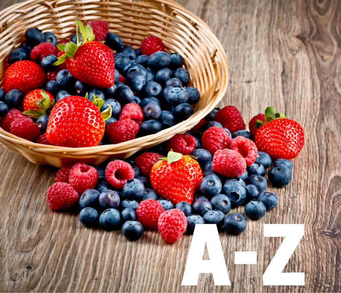 A-Z Benefits of Vitamin and Minerals