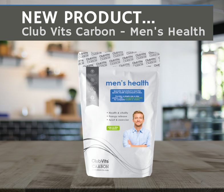 NEW PRODUCT - Club Vits Carbon Men's Health