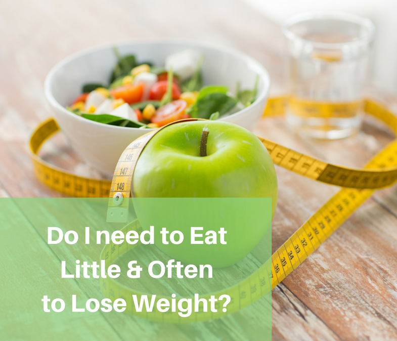 Do I need to Eat Little & Often to Lose weight?