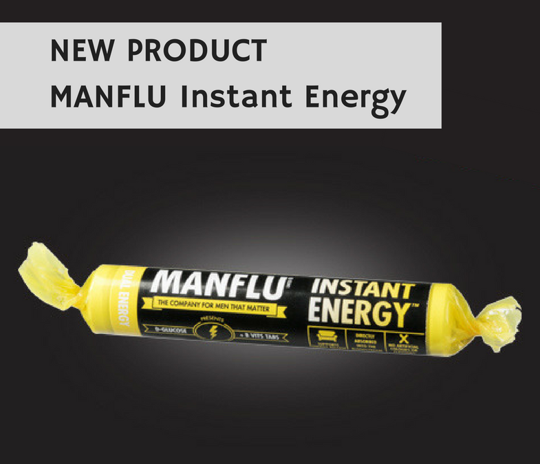 NEW PRODUCT - MANFLU Instant Energy