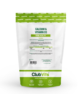Club Vits calcium and vitamin d 60 pack