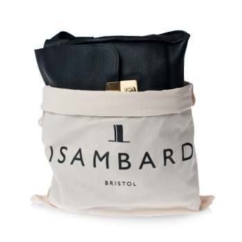 ISAMBARD Clifton Satchel In Soft Natural Leather