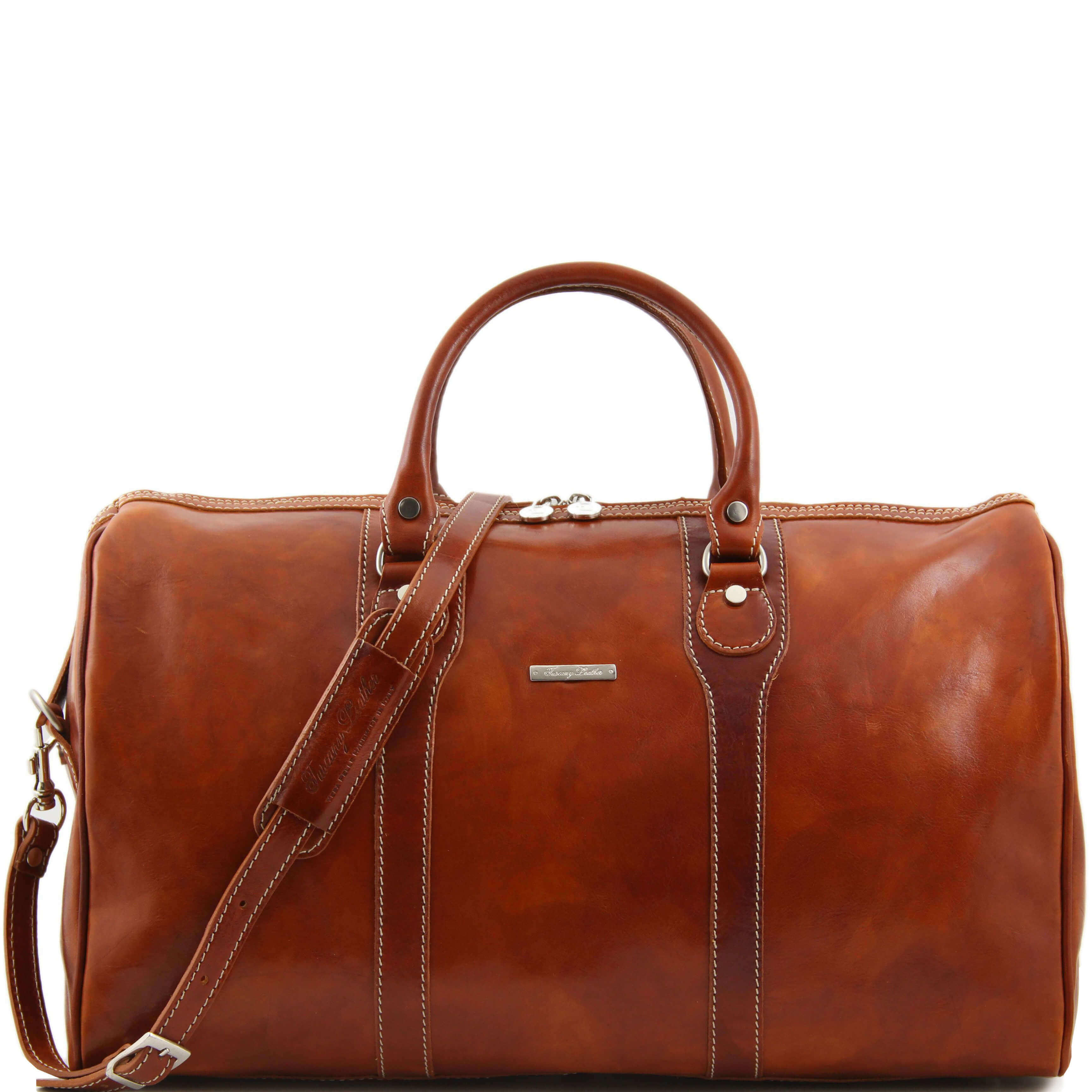 TL1044 Oslo Leather Travel - Luggage  -Duffel - Bag - Case & Sho